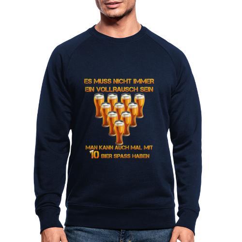 spass mit bier - Männer Bio-Sweatshirt von Stanley & Stella
