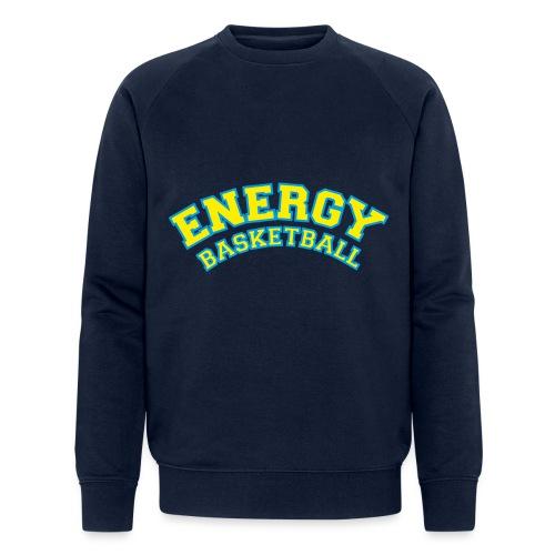 street wear logo giallo energy basketball - Felpa ecologica da uomo