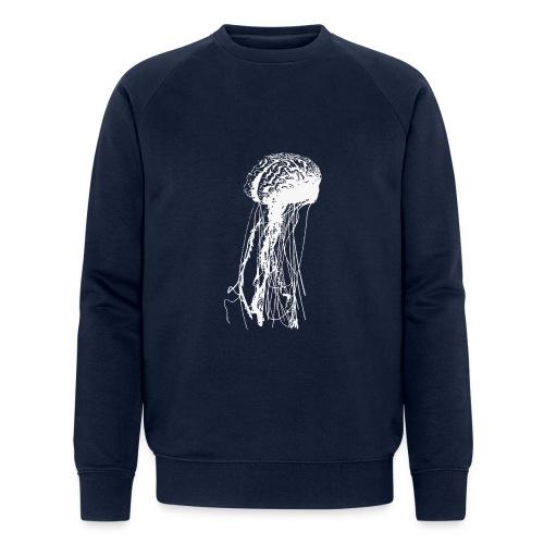 Jellybrain - Männer Bio-Sweatshirt