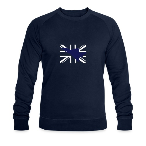 ukflagsmlWhite - Men's Organic Sweatshirt