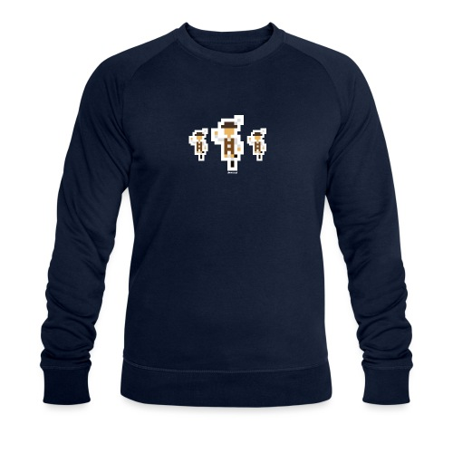 Schuahplattler - Männer Bio-Sweatshirt