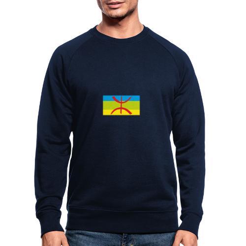drapeau berbere tamazgha - Sweat-shirt bio