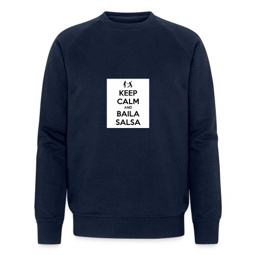 keep-calm-and-baila-salsa-41 - Felpa ecologica da uomo di Stanley & Stella