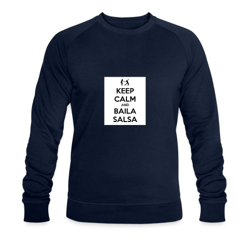 keep-calm-and-baila-salsa-41 - Felpa ecologica da uomo