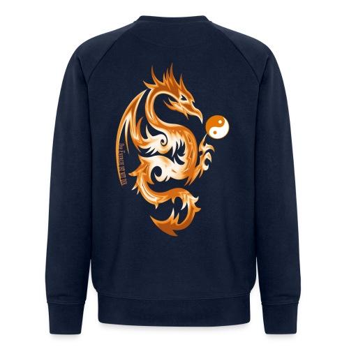Der Drache spielt mit der Energie des Lebens. - Männer Bio-Sweatshirt von Stanley & Stella