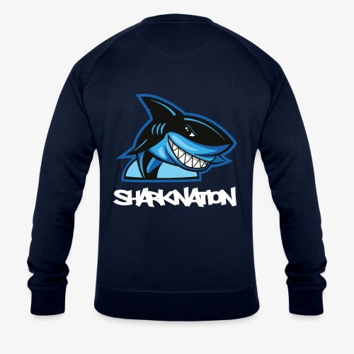 SHARKNATION / White Letters - Männer Bio-Sweatshirt von Stanley & Stella