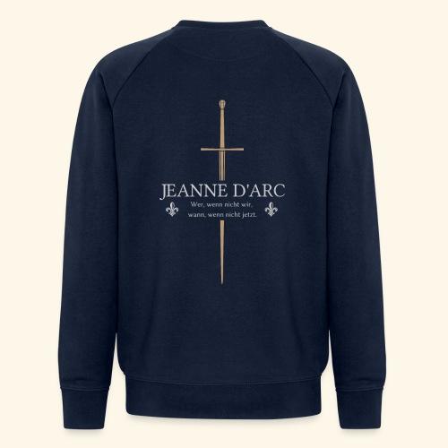 Jeanne d arc - Männer Bio-Sweatshirt