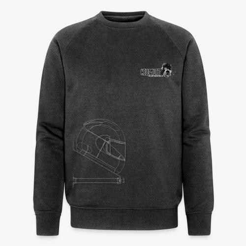 HellMutt LOGO & Bracket for Dark Fabric ONLY - Men's Organic Sweatshirt by Stanley & Stella