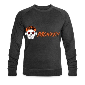 Raw Monkey Logo - Sweat-shirt bio Stanley & Stella Homme