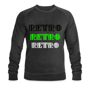 Retro Collections - Økologisk sweatshirt for menn fra Stanley & Stella