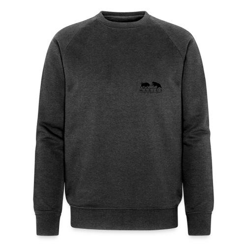 Logo Schwarz Transparent - Männer Bio-Sweatshirt von Stanley & Stella