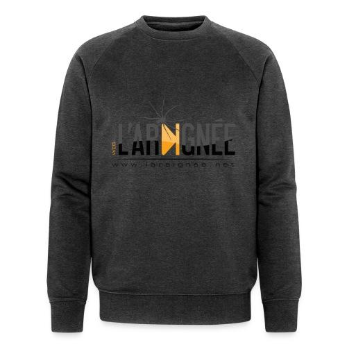 L'ARAIGNÉE, logo noir - Sweat-shirt bio Stanley & Stella Homme