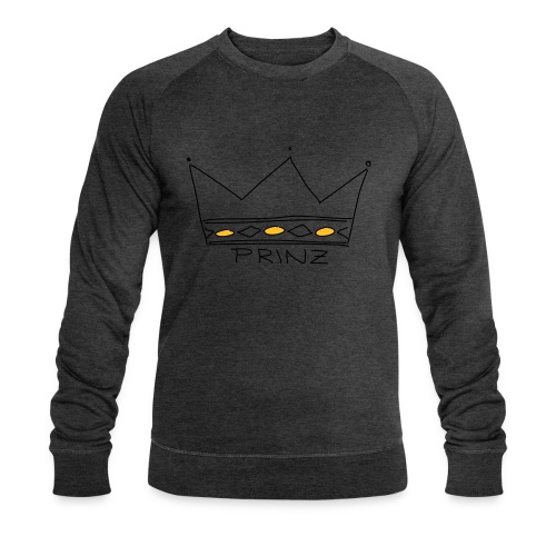 Krone Prinz - Männer Bio-Sweatshirt von Stanley & Stella