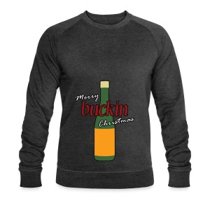 Merry Buckin Christmas 3 - Men's Organic Sweatshirt by Stanley & Stella