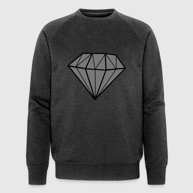 diamant - Økologisk Stanley & Stella sweatshirt til herrer
