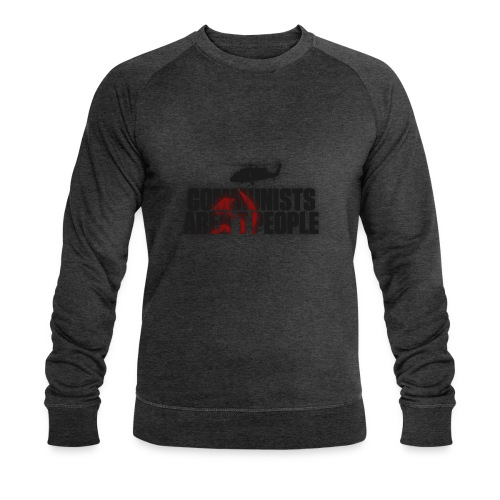Communists aren't People (No uzalu logo) - Men's Organic Sweatshirt by Stanley & Stella