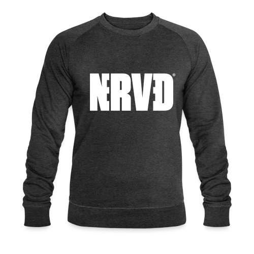 Official Nerved@ White Logotype - Men's Organic Sweatshirt by Stanley & Stella