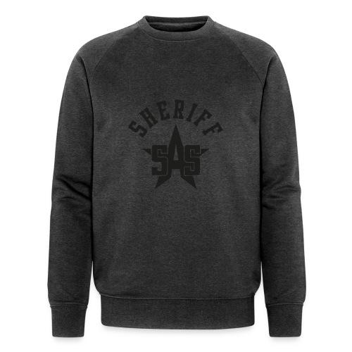 sas sheriff logo los print orig - Mannen bio sweatshirt van Stanley & Stella