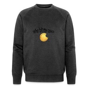 Bitcoin bite - Mannen bio sweatshirt van Stanley & Stella