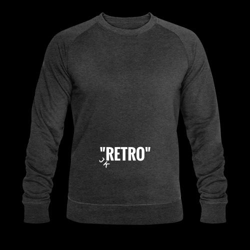 retro - Men's Organic Sweatshirt by Stanley & Stella