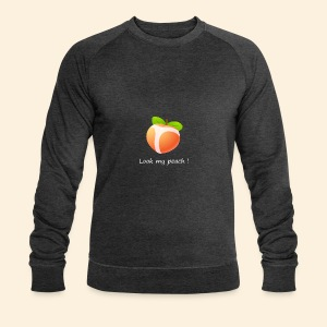 Look my peach in white - Men's Organic Sweatshirt by Stanley & Stella