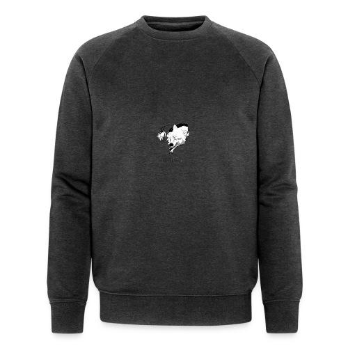 White Wolf White Hoodie - Men's Organic Sweatshirt by Stanley & Stella