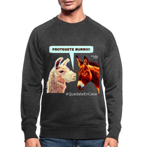 PROTEGETE BURRO - Men's Organic Sweatshirt