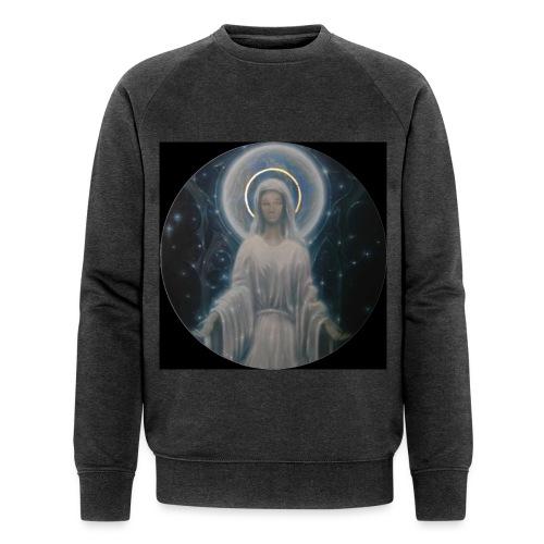 圣母玛利亚 Notre Dame by Jean Libon (Noir) - Sweat-shirt bio Stanley & Stella Homme