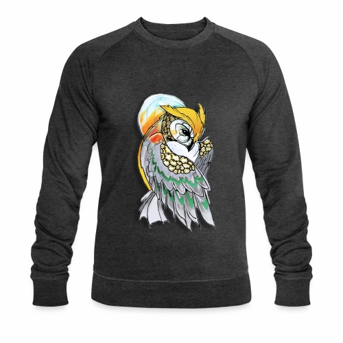 Cosmic owl - Sudadera ecológica hombre