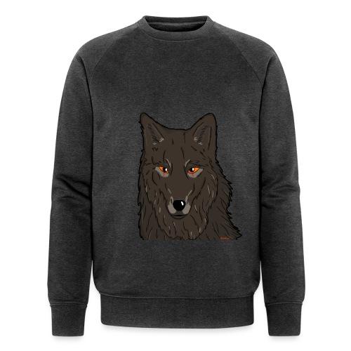 HikingMantis Wolf png - Økologisk sweatshirt til herrer