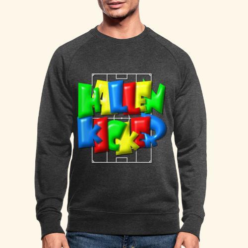Hallenkicker im Fußballfeld - Balloon-Style - Männer Bio-Sweatshirt
