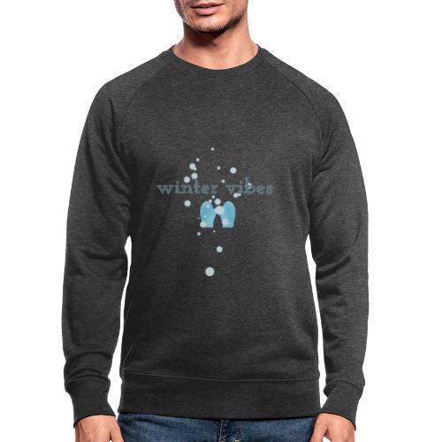 winter vibes - Sweat-shirt bio