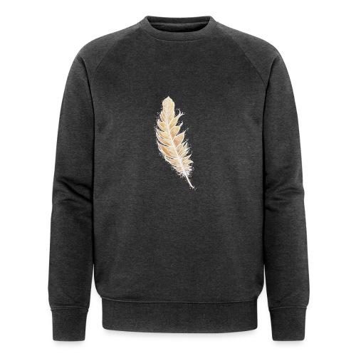 EngelFeder der LiebesFülle - Männer Bio-Sweatshirt von Stanley & Stella