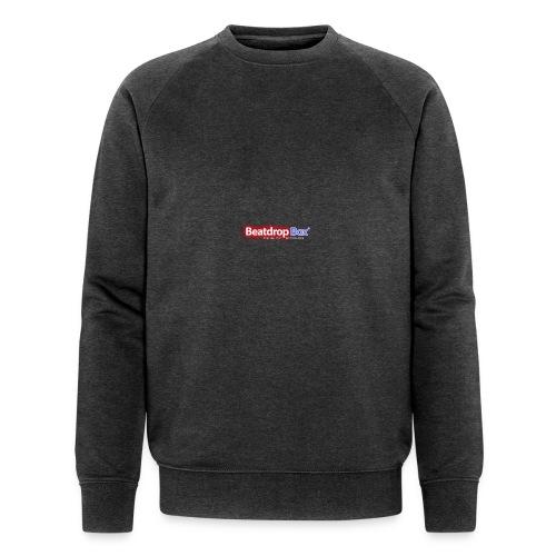 beatdropbox logo final and hires - Mannen bio sweatshirt
