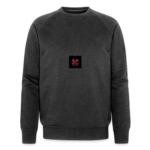 Logo - Økologisk sweatshirt til herrer
