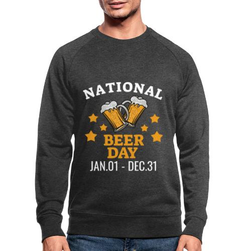 national beer day - Miesten luomucollegepaita