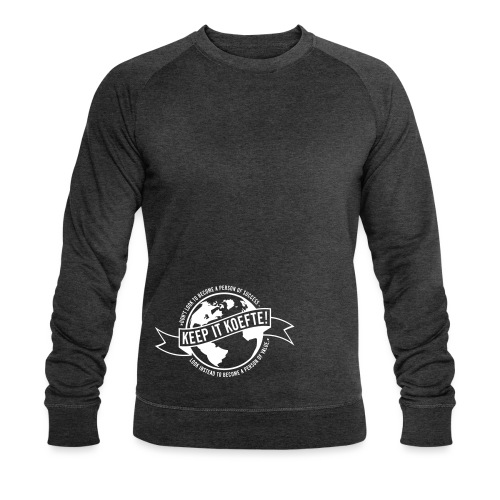 KEEP YOUR WORLD KOEFTE - Männer Bio-Sweatshirt