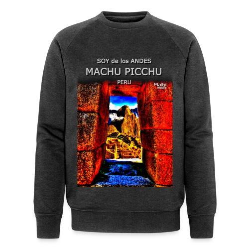 SOY de los ANDES - Machu Picchu II - Sweat-shirt bio Stanley & Stella Homme