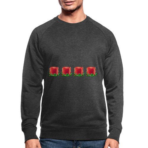 Advent countdown 1 - Men's Organic Sweatshirt