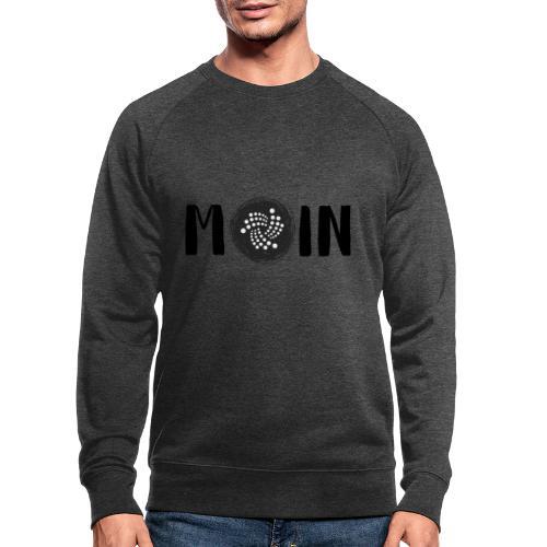 MOIN IOTA | BTC, Kryptowährung | IOTA Shirt - Männer Bio-Sweatshirt