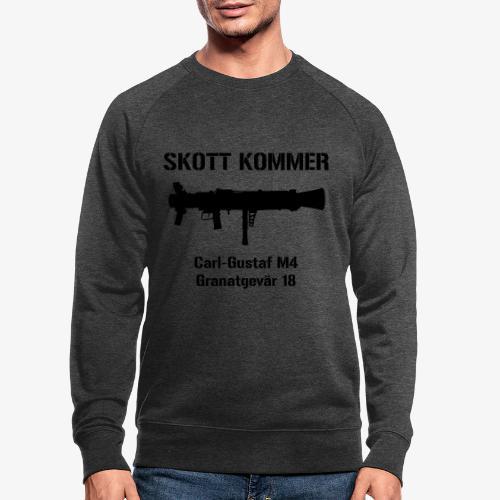 SKOTT KOMMER - KLART BAKÅT - SWE Flag - Ekologisk sweatshirt herr