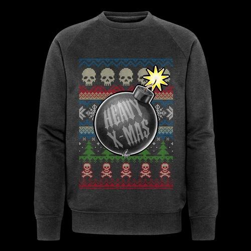 Heavy X-Mas Christbaumkugel-Bombe - Männer Bio-Sweatshirt von Stanley & Stella