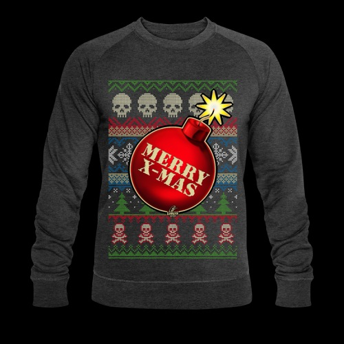 Merry X-Mas Christbaumkugel-Bombe - Männer Bio-Sweatshirt von Stanley & Stella