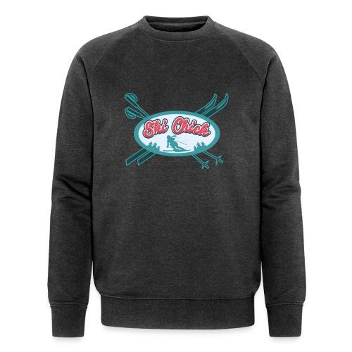 Winter Sports Fan Ski Chick - Men's Organic Sweatshirt by Stanley & Stella