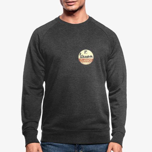 Vintage Logo - Männer Bio-Sweatshirt