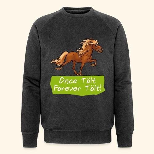 Icelandic horse tölt - Sweat-shirt bio Stanley & Stella Homme