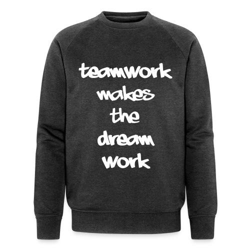 Teamwork - Mannen bio sweatshirt