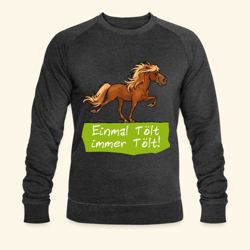 Island Pferd Tölt - Sweat-shirt bio Stanley & Stella Homme