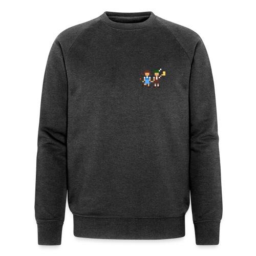 Volksfestgaudi - Männer Bio-Sweatshirt