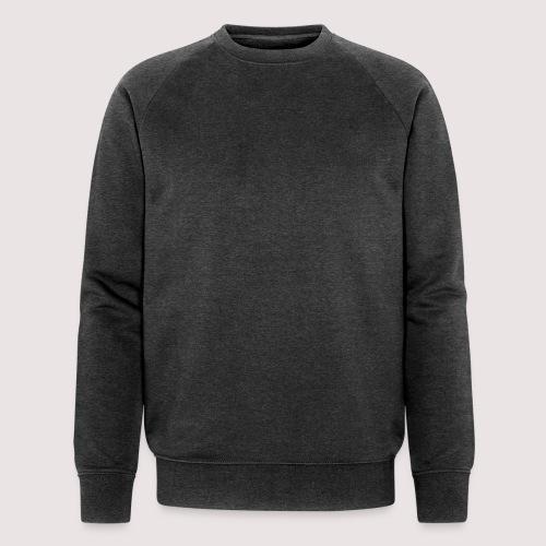 Schrift Schwarz - Männer Bio-Sweatshirt